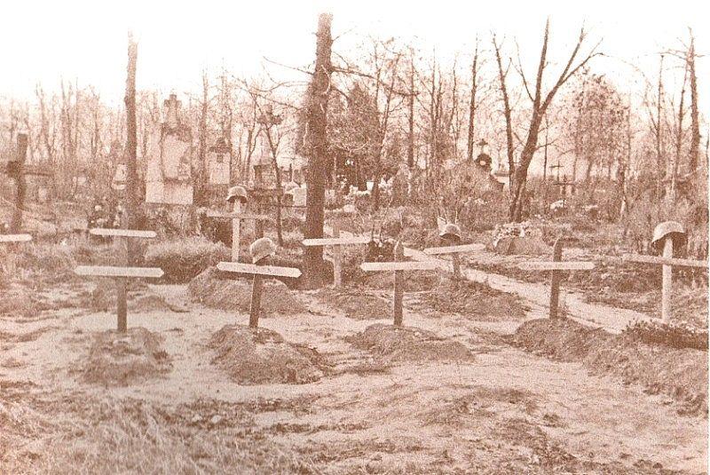Cmentarz ewangelicki w Łęczycy - zdjęcie archiwalne