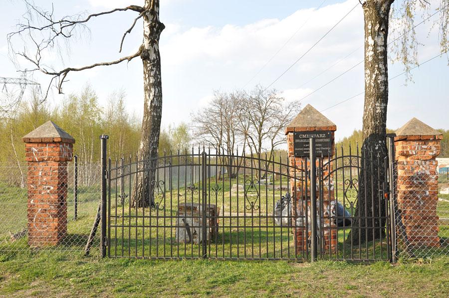 Cmentarz ewangelicko-augsburski w Olechowie
