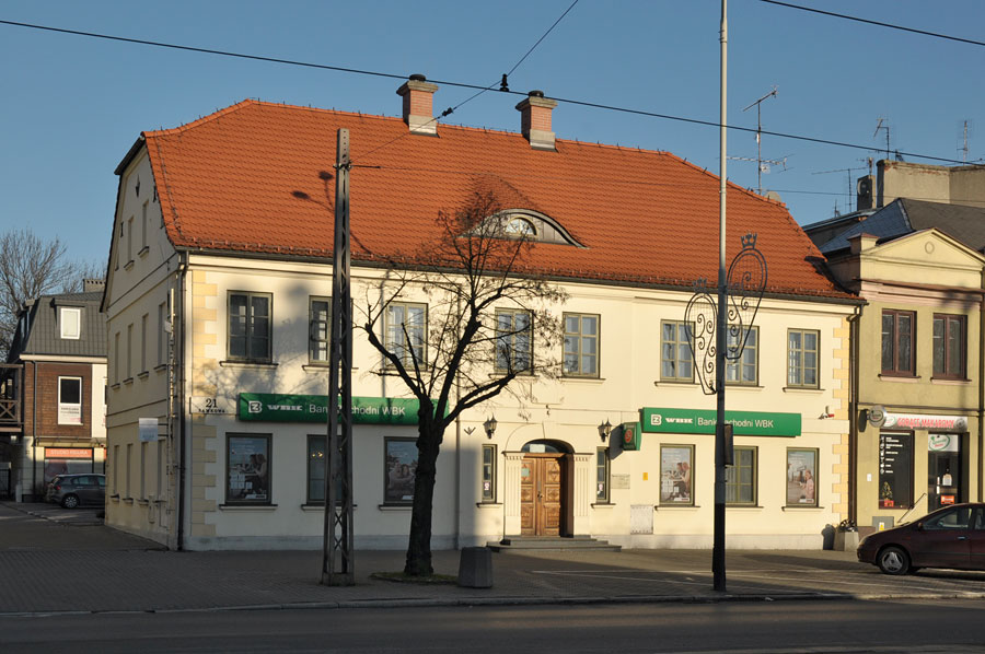 Dom Beniamina Krusche w Pabianicach
