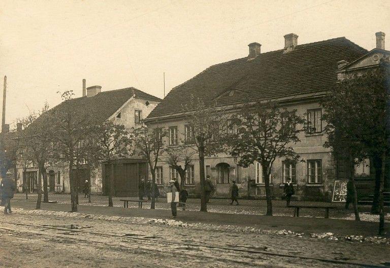 Domy Krusche'ów przy ulicy Zamkowej (lata 20-te XX wieku)