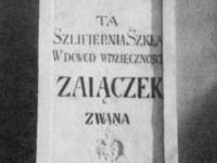Tablica dziękczynna dla generała Zajączka