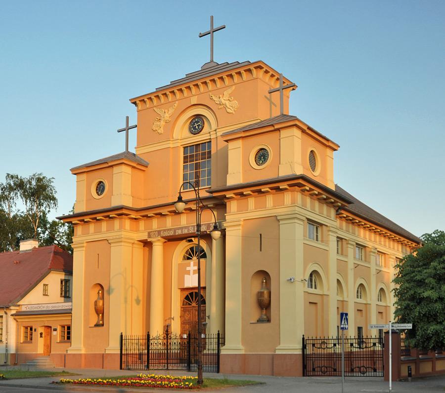 Dawny kościół ewangelicko-augsburski w Aleksandrowie Łódzkim