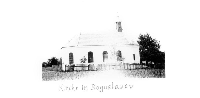 Kościół ewangelicki w Bogusławowie w okresie międzywojennym