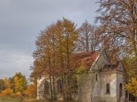 Ruiny kościoła ewangelickiego w Bogusławowie