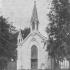 Niesitniejący kościół ewangelicko-augsburski w Brzezinach