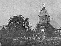 Nieistniejący kościół w Chorzeszowie