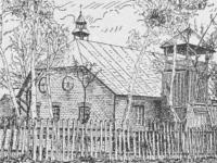 Nieistniejący kościółek ewangelicki w Jarostach
