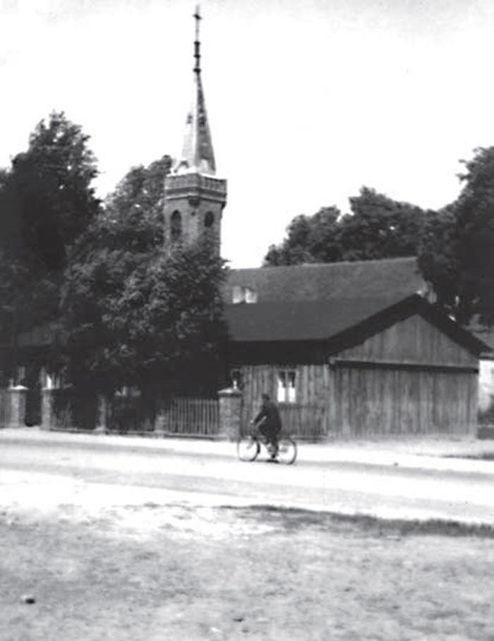 Nieistniejący kościół w Kleszczowie