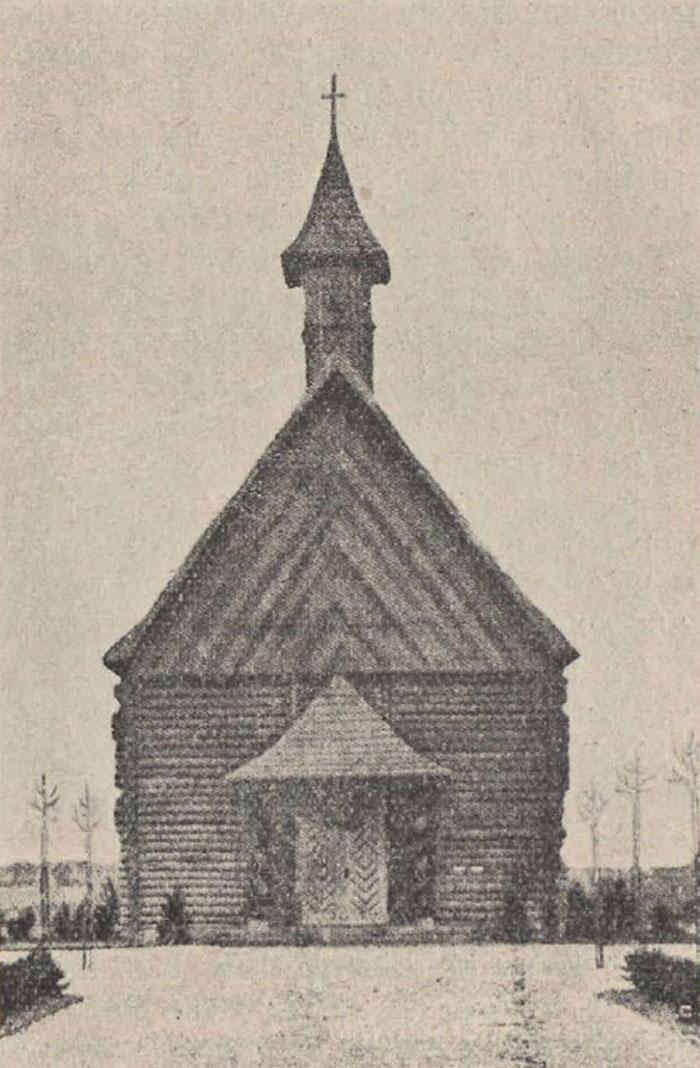 Nieistniejący kościół ewangelicki w Koluszkach