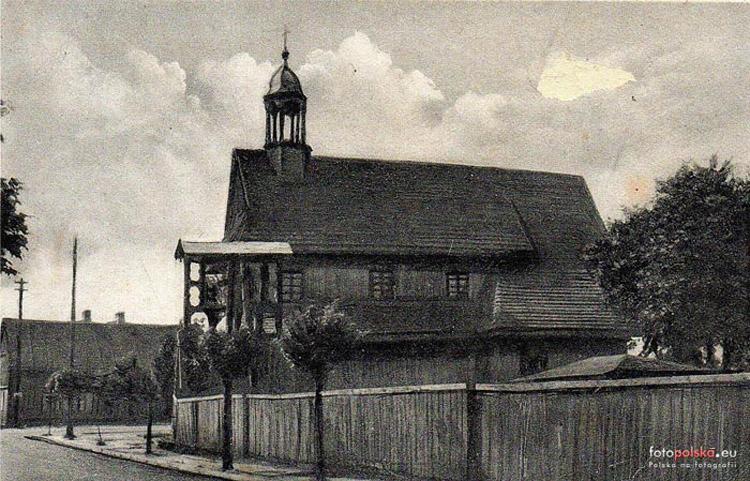 Kościół w Łasku - początek XX wieku