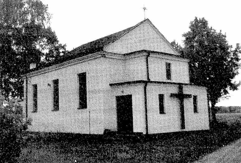 Kaplica w Rokitnicy - połowa lat 90-tych XX wieku - fot. Tomasz Dronka