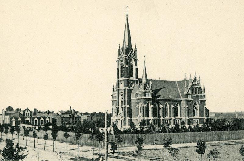 Kościół Zbawiciela w Tomaszowie Mazowieckim - pocztówka