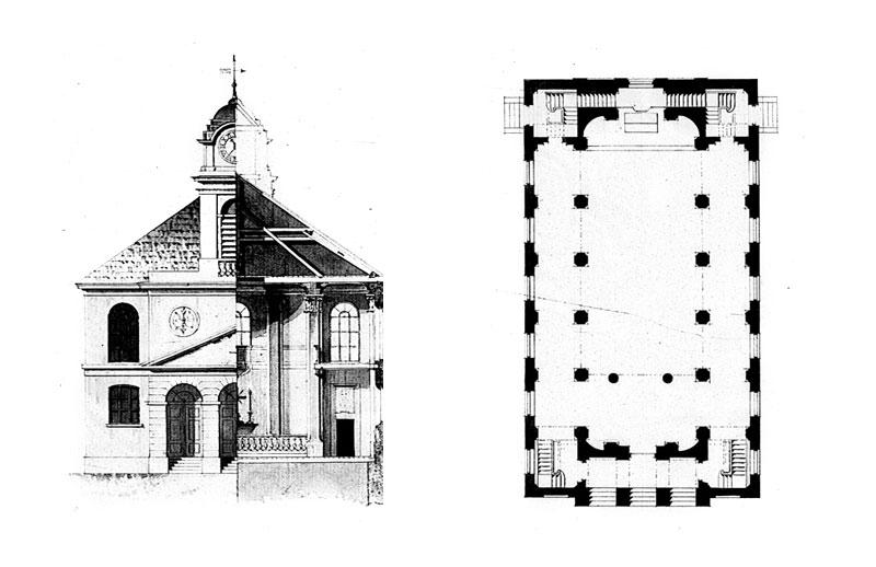 Kościół ewangelicki w Zgierzu - odrzucony projekt Hilarego Szpilowskiego
