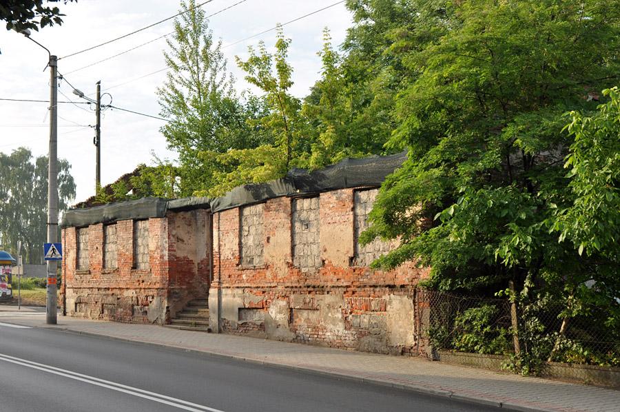 Ruiny pastorówki w Zgierzu